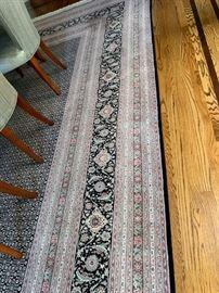 """85. Tabriz Herati Silk and Woold Rug (9'6"""" x 13'6"""")"""