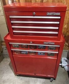Craftsman tool box - with tools