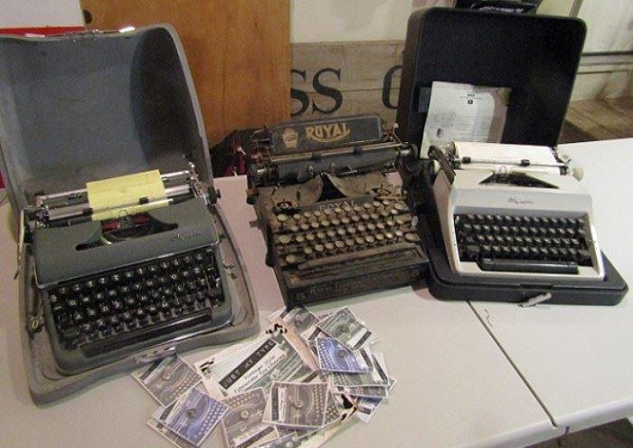 old typwriters
