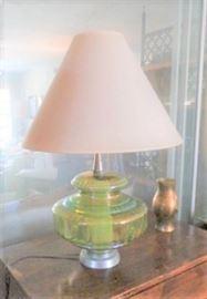 IRRIDESCENT LAMP