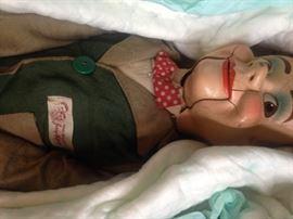 Jerry Mahoney ventriliquist doll