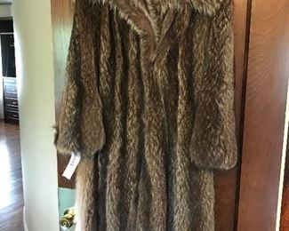one of 2 beaver coats