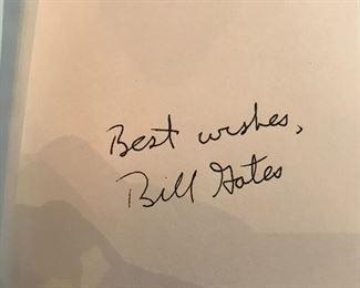 Best Wishes,  Bill Gates