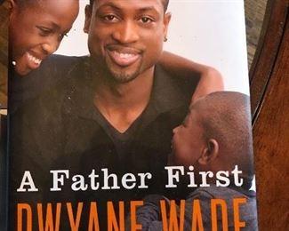 Dwayne Wade autograph copy