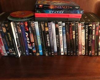 DVD's, CD's