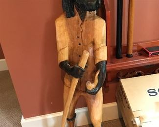 Large Jamaican Rastafarian dude