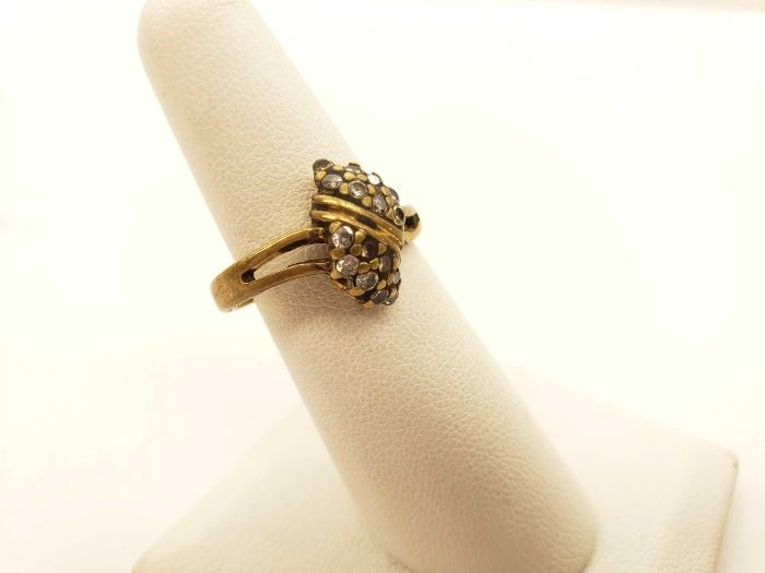 #45: 10k Gold Ring, 2.8g Tested at 10k size 5.5 10k Gold Ring, 2.8g Tested at 10k size 5.5