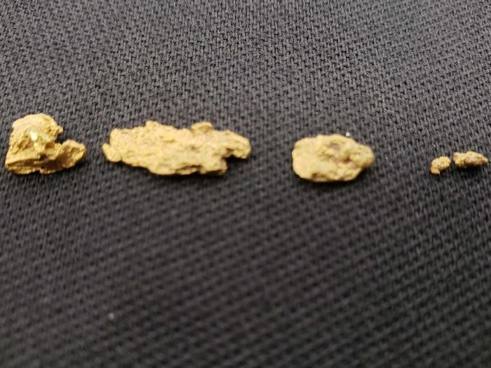#46 Gold Nuggets tested at 22k 1.3grams Gold Nuggets tested at 22k 1.3grams