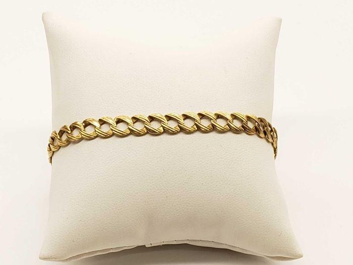 #47 14k Gold Bracelet, 7.3grams 14k Gold Bracelet, 7.3grams