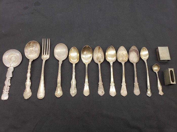 # 80 .925 Sterling Silver Silverware, 326.2 grams .925 Sterling Silver Silverware, 326.2 grams