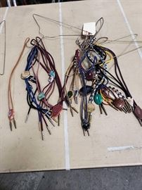 # 95 Misc Bolo Ties 22   Approximately 22 Bolo ties