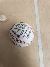 # 96 Signed Baseball Signed Baseball
