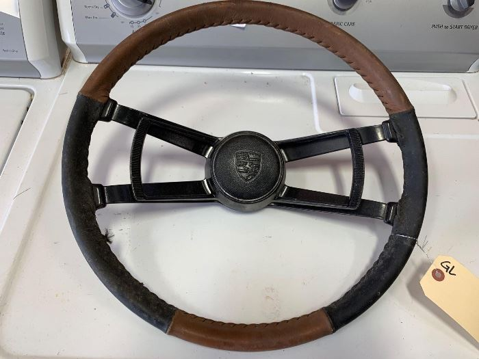# 260 Vintage Porsche steering wheel Vintage Porsche steering wheel