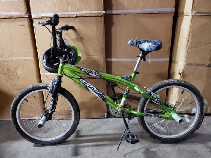 # 508 4 Foot Chaos FS20 Freestyle Bike with Center Pull Brakes and Gyro Handlebars 4 Foot Chaos FS20 Freestyle Bike with Center Pull Brakes and Gyro Handlebars