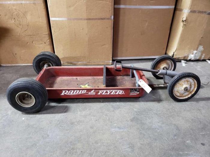 # 511 Raido Flyer Custom Wagon and Mini Big Wheel Wagon Raido Flyer Custom Wagon and Mini Big Wheel Wagon