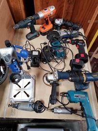 #526: Dremel and Dremel Press,Makita cordless drill, HDX Air Grinder , Ryobi Grinder & Drill, Drill Master Grinder and the Like Dremel and Dremel Press,Makita Cordless Drill, HDX Air Grinder , Ryobi Grinder, Drill Master Grinder and the Like