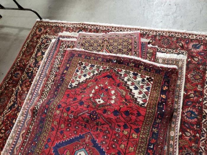 "#606: 8 Assorted Rugs Sizes Ranging From 35"" x 27"" To 122"" x 82"""