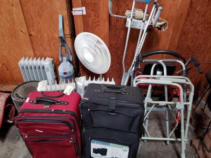 # 607 Electric Heaters, Walkers, Luggage Electric Heaters, Walkers, Luggage