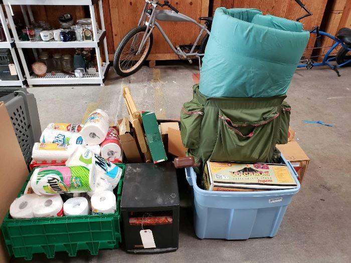 # 620 Camping Gear, Heater, Vacuum, Paper Towels Camping Gear, Heater, Vacuum, Paper Towels