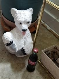 Cute collectible,  coca cola bear!