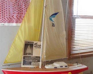 Trade Winds MOdel Sailboat