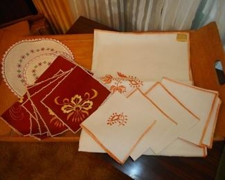 Vintage Table Linens