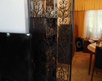 Mid Century Room Divider with Poles. There is another set packaged