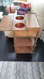 antique wine stand