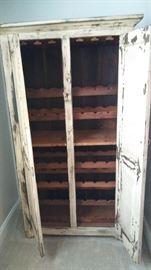 Primitive Wine Cabinet
