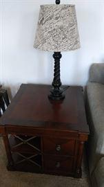 Lettered lamp (pr)