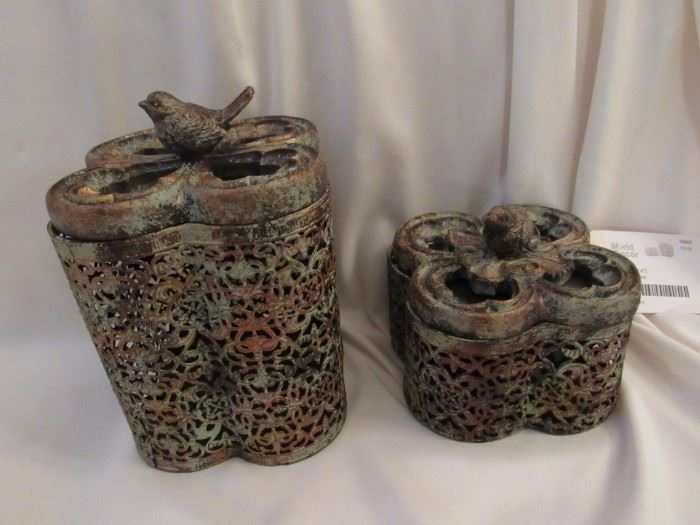 Trinket boxes brand new with tags