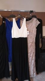 Evening dresses, casual dresses many new with tags