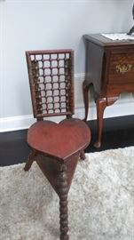 Antiques Heart and Ball chair