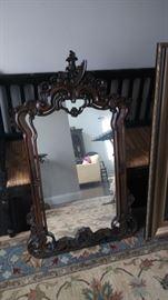 Large antiques mirror