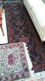 BEAUTIFUL - There are 4 hand woven Parisian rug runners