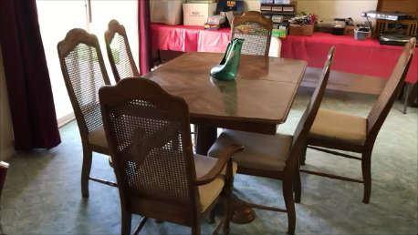 dinning room table colusa