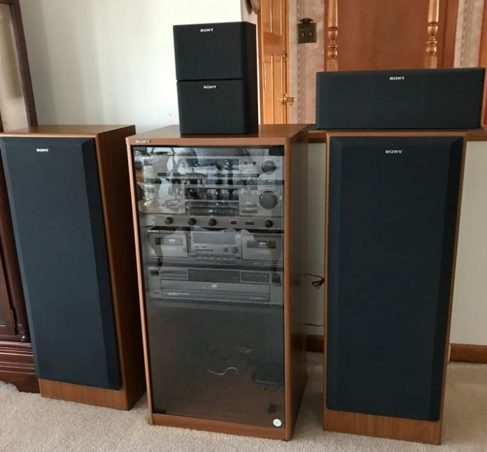 Sony Stereo System https://ctbids.com/#!/description/share/120992