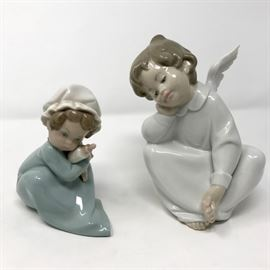 Lladro 4961 & Angel & Baby 5103 https://ctbids.com/#!/description/share/120995