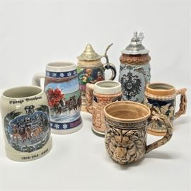 Beer Steins & Mugs https://ctbids.com/#!/description/share/120998