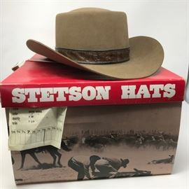Stetson 4x Beaver Hat https://ctbids.com/#!/description/share/121179