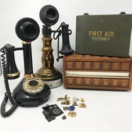 Vintage Telephone Collectibles https://ctbids.com/#!/description/share/121227