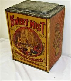 Sweet Mist Chewing Tobacco counter-top store display