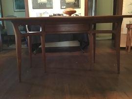 Beautiful handmade mid century modern - danish style dining table.