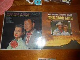 Albums by Roy Rogers and Dale Evans