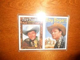 Roy Rogers Comics cards