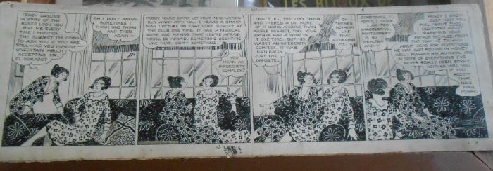 Here's the beginning of many vintage comic strips