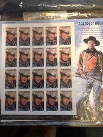 37 cent John Wayne commerative stamps