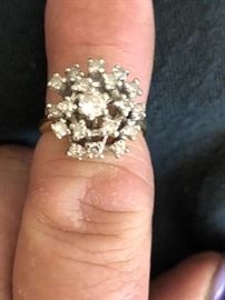 1.5 carat diamond ring