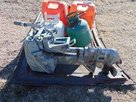 10 HP Evinrude Boat Motor Power head good  Lowe ...