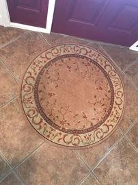 """42"""" diameter rug"""